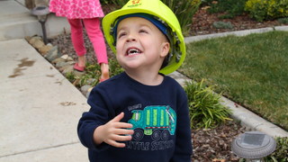 Wish granted: Six-year-old boy will be garbage man for a day