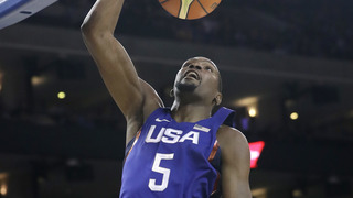 Kevin Durant shines in first game at new home arena