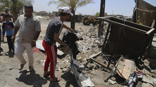 Baghdad suicide bomb kills 6; province takes on militants