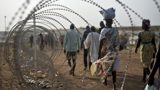Witnesses say South Sudan soldiers raped dozens near UN camp