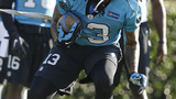 Panthers WR Kelvin Benjamin stands out in return from ACL