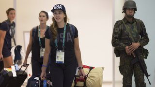 Olympic organizers suspect