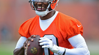 RG3 not looking back, excited and ready to lead Browns