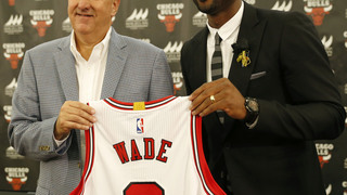 Wade excited to join hometown Bulls