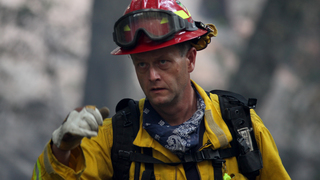 California coastline wildfire rages a week later