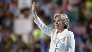 The Latest: Trump slams Clinton