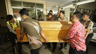 Indonesia executes 4 people convicted of drug crimes