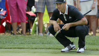 Stenson makes a run at another major, the PGA championship