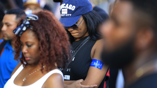 Dozens march in Dallas against police violence toward blacks