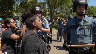 Policing protests when the protest is about police
