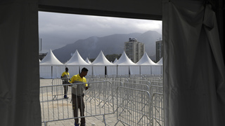 Australia evacuates Rio Olympic lodging after small fire