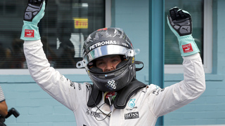 Nico Rosberg takes pole for German GP, Hamilton 2nd