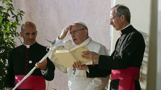 Pope to young: Try politics, activism; don