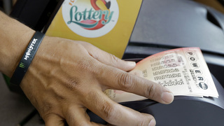 Numbers drawn in $487 million Powerball jackpot