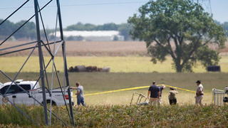 Texas hot air balloon crash leaves no apparent survivors
