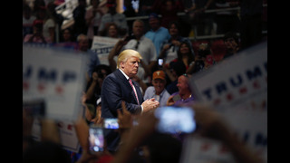 The Latest: Trump gets support from leader of