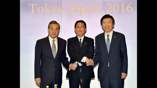 Japan, China, S. Korea unite in condemning N. Korea missile