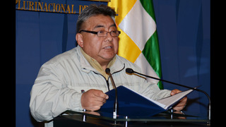 Officials: Striking miners kill deputy minister in Bolivia