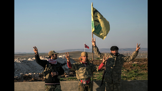 Turkey: US says Syria Kurds are pulling back in north Syria