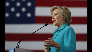 Clinton says Trump unleashes