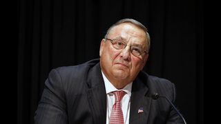 Maine governor leaves obscene tirade on lawmaker