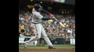 Kemp homers, Foltynewicz solid as Braves top Giants 3-1