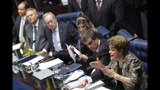 Vote on whether to remove president nears in Brazil