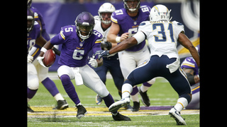 Vikings QB Teddy Bridgewater has