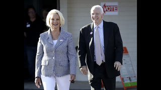 McCain defeats Republican challengers to win Arizona primary