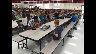 FSU player eats lunch with autistic student sitting alone
