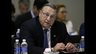To quell uproar, Maine governor seeking