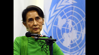 Suu Kyi: Myanmar has unique chance to forge peace