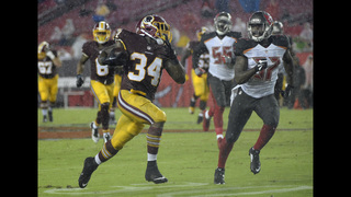 Brown shines, Redskins beat Buccaneers in preseason finale