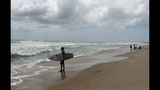 Tropical weather expected to drench North Carolina coast