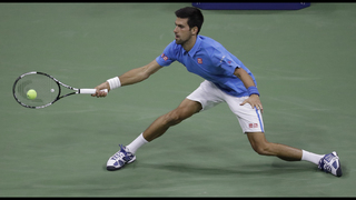 Hit by cramps, Raonic loses to qualifier Harrison at US Open