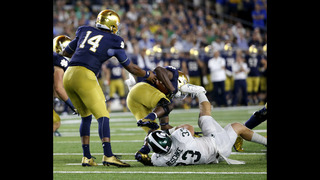 Big deficits leave Notre Dame in an early season hole