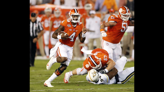 No. 5 Clemson dominates first half, beats Georgia Tech 26-7