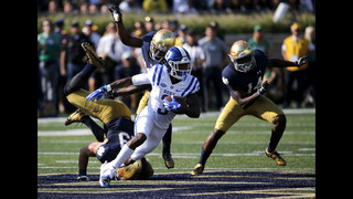 Reed kicks game-winning field goal as Duke beats Notre Dame