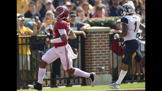 No. 1 Alabama rolls Kent State 48-0, loses Harris to injury