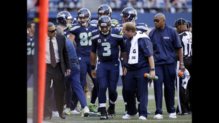 Russell Wilson injured in Seattle