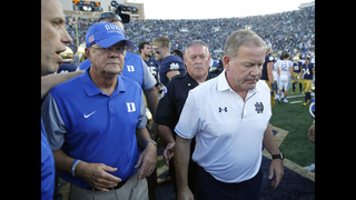 Notre Dame fires defensive coordinator after 1-3 start