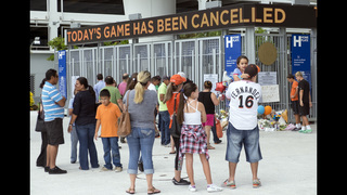 LEADING OFF: Marlins home for 1st game since Fernandez death