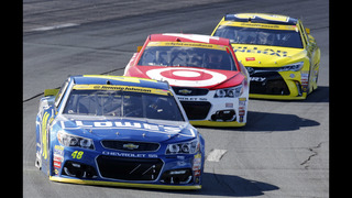 Harvick wins at New Hampshire to advance to 2nd round