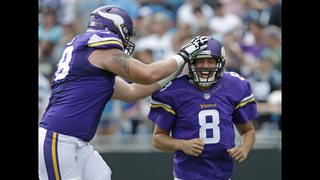 Vikings stop Newton, snap Panthers