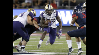 No. 9 Washington beats Arizona 35-28 in overtime
