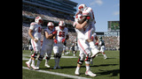 AP TOP 25: No. 8 Wisconsin moves up, LSU moves out of poll