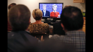 Cheers and jeers: Americans tune into Trump-Clinton debate