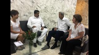 Kerry meets Venezuelan president amid escalating tensions