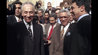 Shimon Peres witnessed Israel