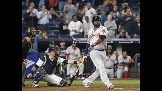 LEADING OFF: Ortiz, Red Sox try again to clinch in New York
